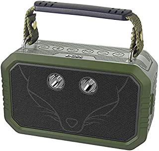 Wireless Portable Bluetooth 4.2 Speakers with Waterproof IPX65, 10W Stereo Sound and Bold Bass, 12 Hours Playtime, TF, Aux in