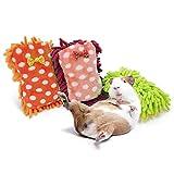 Asocea Tapis de couchage pour petits animaux pour hamster, cochon d'Inde, coussin de coussin pour cage d'écureuil, hérisson, lapin, rats, chinchilla
