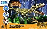 """Uncle Milton Dr. Steve Hunters - T. Rex Replica Skeleton - 21Piece - 1: 15 Scale - 30"""" - Scientific Educational Toy"""