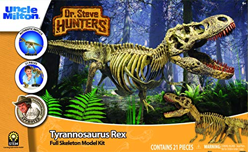 Uncle Milton Dr. Steve Hunters - T. Rex Replica Skeleton review