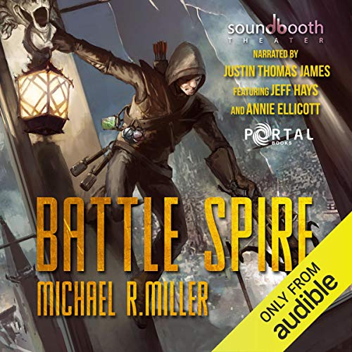 Page de couverture de Battle Spire: A Crafting LitRPG Book
