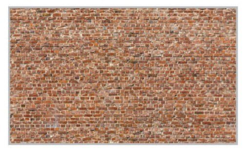 Heki 14002 Ziegelsteinmauer 31 x 24 cm. 3 Stck. H0