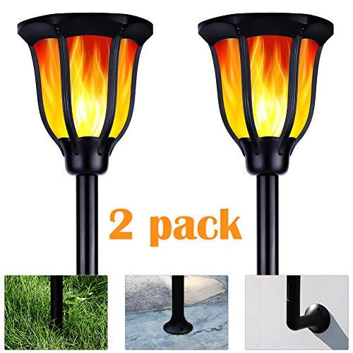 Lampe de Jardin ARINO Flamme LED Jardin,...