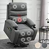 Best Power Lift Recliners - Power Lift Recliner Chair for Elderly Heated Vibration Review