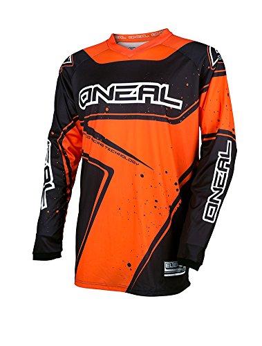 O'NEAL - Radsport-Trikots & -Shirts für Jungen in Schwarz / Orange, Größe S