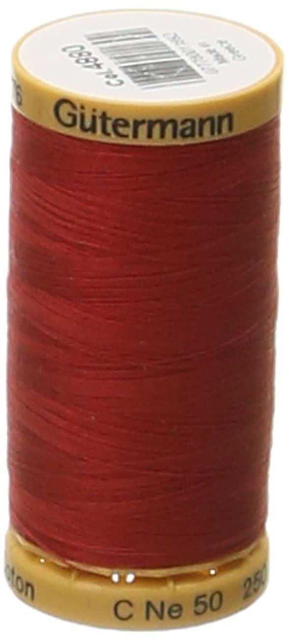 Gutermann Natural Cotton Thread 273 Yards-Red