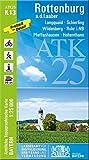 ATK25-K13 Rottenburg a.d.Laaber (Amtliche Topographische Karte 1:25000): Langquaid, Schierling, Wildenberg, Rohr i.NB, Pfeffenhausen, Hohenthann, ... Amtliche Topographische Karte 1:25000 Bayern)