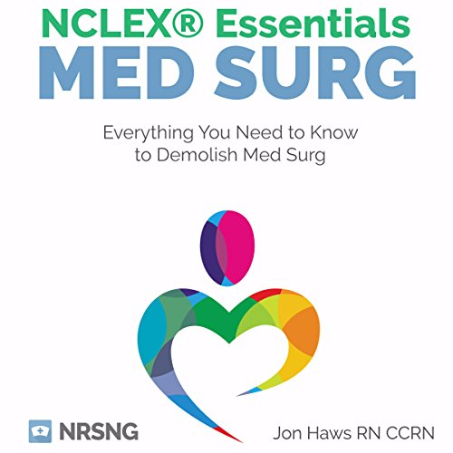 MedSurg NCLEX® Essentials cover art