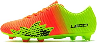 LEOCI Performance Soccer Shoes - Men and Boy Soccer Shoes Outdoor Soccer Cleat