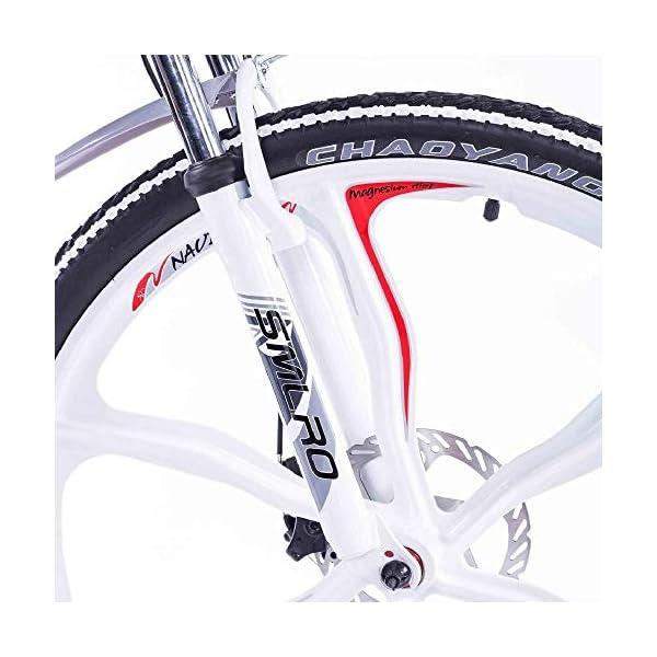 51YdhuOBbjL. SS600  - Knewss 26 Mx300 zusammenklappbares Elektrofahrrad Shimano 7-Gang E-Bike 48 V Lithiumbatterie 350 W 13ah Motor Elektrofahrrad für Erwachsene