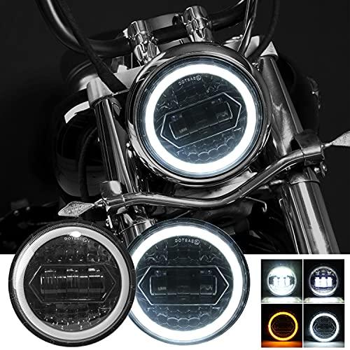 Kairiyard Runde Motorradscheinwerfer 5,75