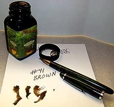 Noodler's Fountain Ink, 3 oz Bottle, 41 Brown (19063)