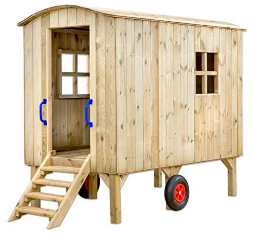 Betzold - Bauwagen Kindergarten - Spiel-Wagen Baufwagen für Kinder Grund-Schule