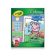 Crayola Colour & Sticker Book Peppa Pig Arts & Crafts