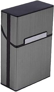 NIDONE Aluminiumlegering Cigarettlåda Och Snygg Cigaretthållare Aluminium Cigarettväska Metallmagnetskyddslock Cigaretter ...