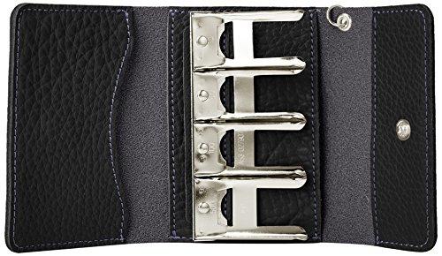 (ルミニーオ)luminioコインケースコインキャッチャー小銭入れ日本製ドイツシュリンクレザー牛革カラバリitl-01(ブラック/bk)