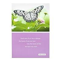 お悔やみInspirational Boxedカード–Max Lucado–Butterflies