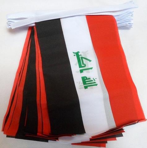 9 meter 30 Vlag Irak Irakese Materiaal Bunting