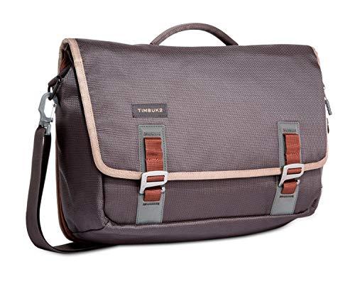 TIMBUK2 Command Messenger Bag, Carbon and Molasses, Medium