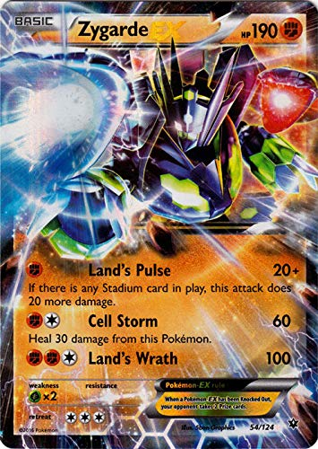 Pokemon - Zygarde-EX (54/124) - XY Fates Collide - Holo