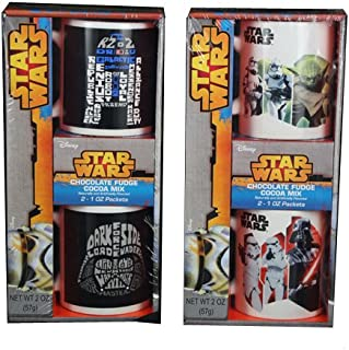 Galerie Star Wars 2 Mug Gift Set with Cocoa, 2 Ounce