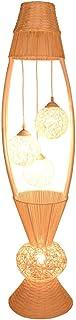 Lampe sur pied Lampadaire, Commutateur au pied, Lampe verticale, Salon simple et créatif, Chambre à coucher, Lampe de pail...