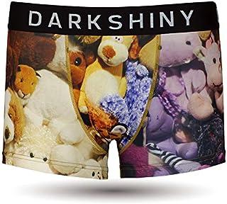[DARK SHINY(ダークシャイニー)] ボクサーパンツ メンズ STUFFED ANIMALS ぬいぐるみ
