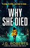 Why She Died: A completely unputdownable crime thriller (Detective Rachel Hart Book 3)