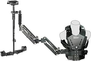 FLYCAM Galaxy Dual Arm & Vest with Redking Video Camera Stabilizer Steadycam Stedicam   Professional Stabilization System...