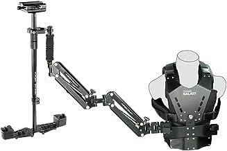 FLYCAM Galaxy Dual Arm & Vest with Redking Video Camera Stabilizer Steadycam Stedicam | Professional Stabilization System...