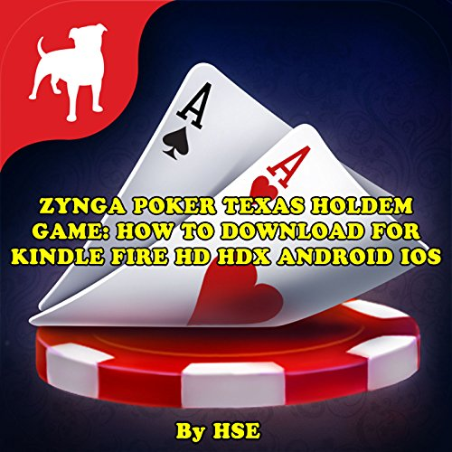 Zynga Poker Texas Holdem Game audiobook cover art