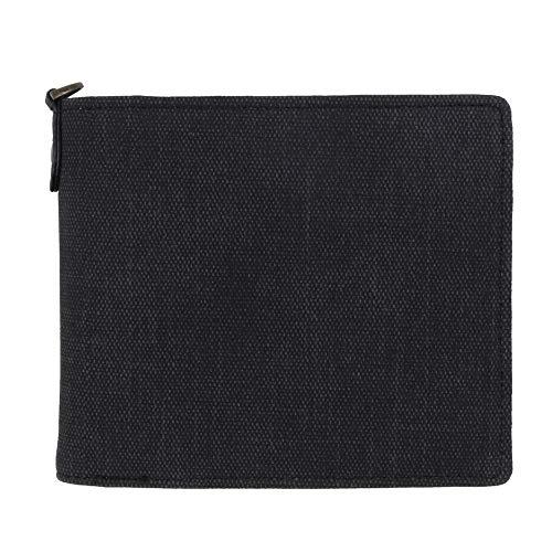 [ヘルスニット] 財布 二つ折り メンズ ブランド カードがたくさん入る 薄い レディース ヘルスニット Healthknit ブラック Free