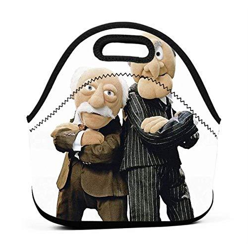 Statler Und Waldorf Männer Frauen Kinder Isolierte Lunchpaket Tote Wiederverwendbare Lunchbox Für Arbeit Picknick Schule