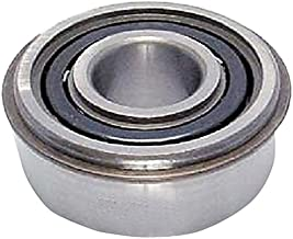 Peer Bearing 6208-ZZ-NR-C3 6200 Series Radial Bearings, C3 Fit, 40 mm ID, 80 mm OD, 18 mm Width, Double Shield with Snap Ring
