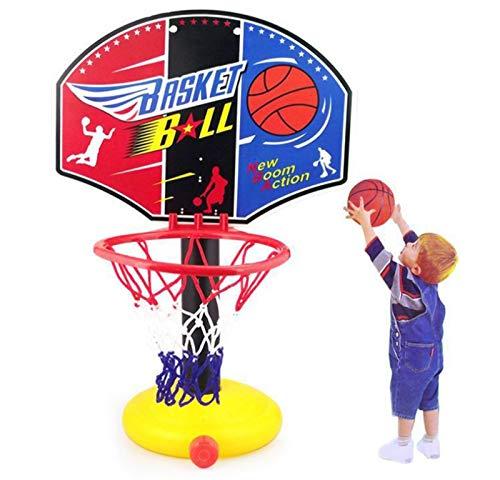 GTYMFH Sistema de Baloncesto for niños Ajustable Sistema de Disparos for niños Regalos de Baloncesto Baloncesto Soporte Deportivo Juegos Familiares