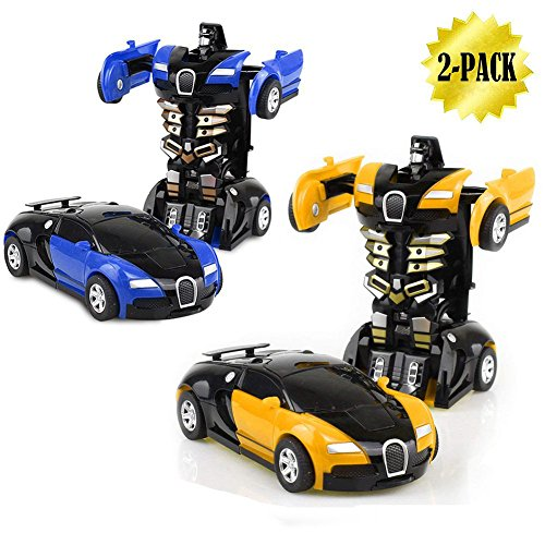 2 in 1 Robot Toy Car Now $6.59 (Was $33)