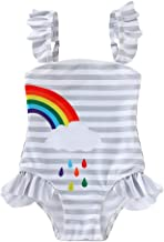 Tronet Baby//Toddler Girl Swimsuit Summer One Piece Cartoon Bikini Ruffle Swimwear Swimsuit Bathing Suit