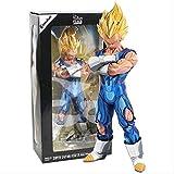Huhu Dragon Ball Z Grandista Majin Vegeta / Super Saiyan Son Goku Manga PVC Tamaño Figura de colecci...