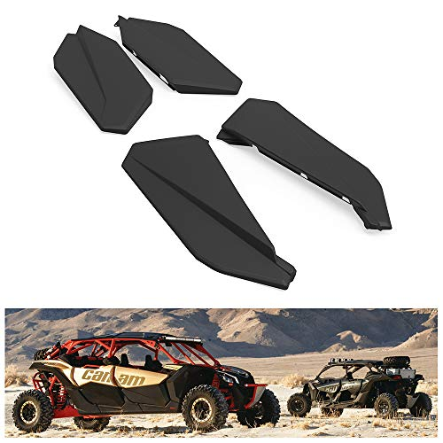 KIWI MASTER Lower Half Doors Inserts Panels Compatible for 2017-2020 Can Am Maverick X3 MAX XDS XRS/R TURBO 4-Door 715003751