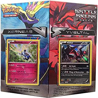 TCG Battle Arena Decks: Xerneas vs Yveltal Card Set
