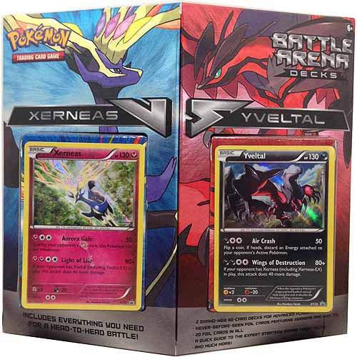 Pokemon POK TCG Battle Arena Decks Xerneas vs Yveltal d8 Kartenspiel