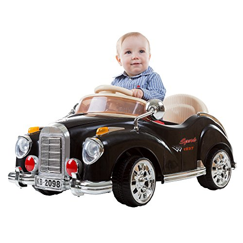 Product Image of the Kids Ride On Car with Remote Control – Classic Sports Car for Kids 6V Battery...