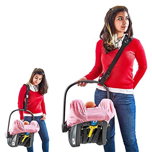 Babyschale Tragegurt Tragehilfe - Cocobelt universell anwendbar sorgt für ein leichtes und rückenschonendes Tragen vom Baby in der Babyschale