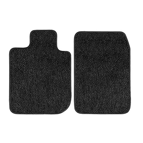 GGBAILEY D3486B-F1A-CHAR-AW Ferrari, 575M, 2002, 2003, 2004, 2005, 2006 Charcoal All-Weather Floor Mats