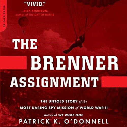 The Brenner Assignment audiobook cover art