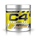 Cellucor C4 Original Pre Workout Powder Orange Burst   Sugar Free Preworkout Energy Supplement for Men & Women   150mg Caffeine + Beta Alanine + Creatine   30 Servings
