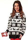 Forum Novelties Herren Snow Drift Novelty Christmas Sweater Pullover, X-Groß