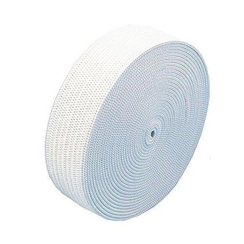3/4 Inch 10 Yard White Knit Elastic Spool,Springy Stretch Knitting Sewing Elastic Band (3/4 Inch, White)
