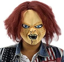 Najer Halloween Horror Latex Mask Child's Play Chucky Action Figures for Masquerade Bar Party