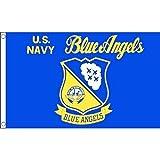 AZ FLAG Flagge Blue Angels Navy US 150x90cm - STREITKRÄFTE DER VEREINIGTEN Staaten Fahne 90 x 150...